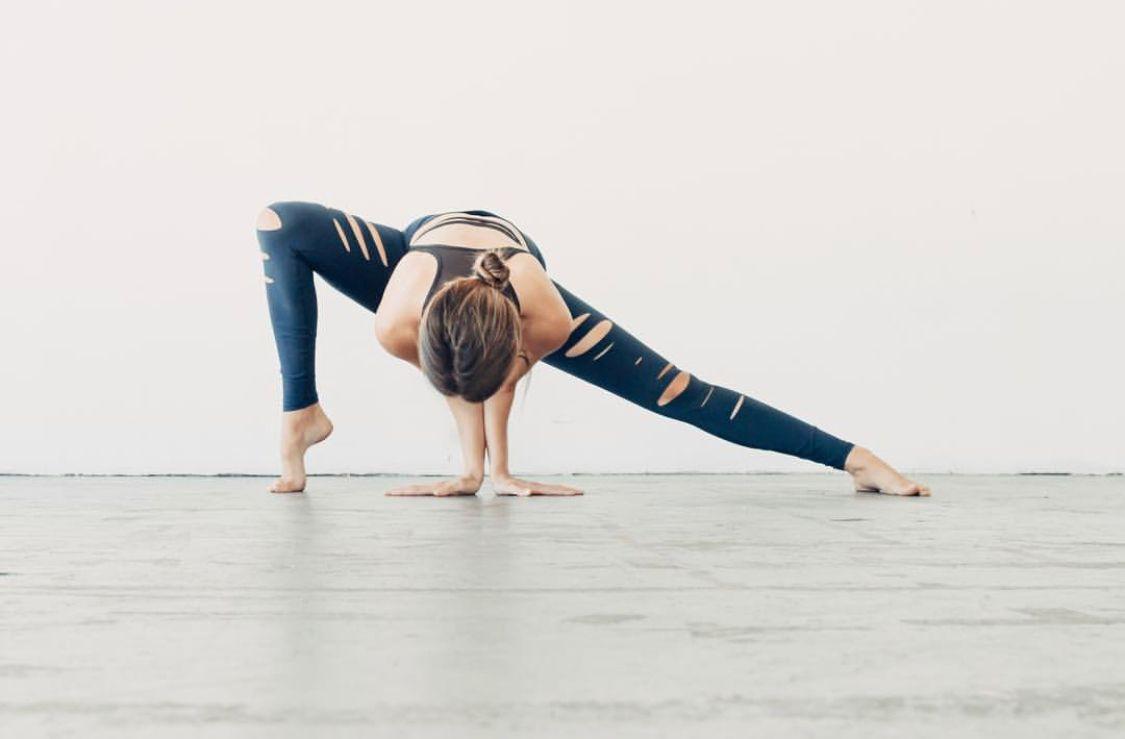 Йога онлайн средний уровень