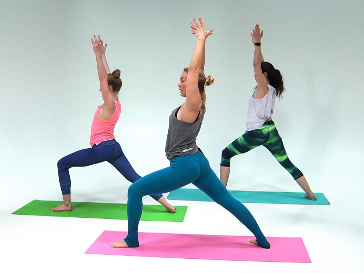 Йога онлайн для начинающих