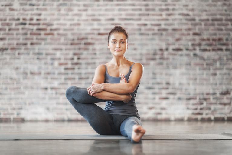 Йога видео для спины