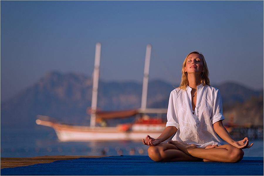 Видео йога медитация