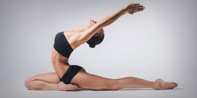 Вечерняя йога для начинающих видео
