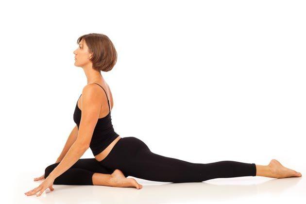 Йога для толстых начинающих