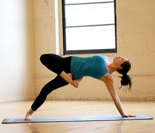 Йога вечерний комплекс для начинающих