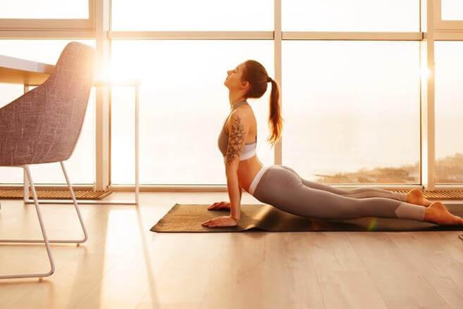 Онлайн уроки йоги