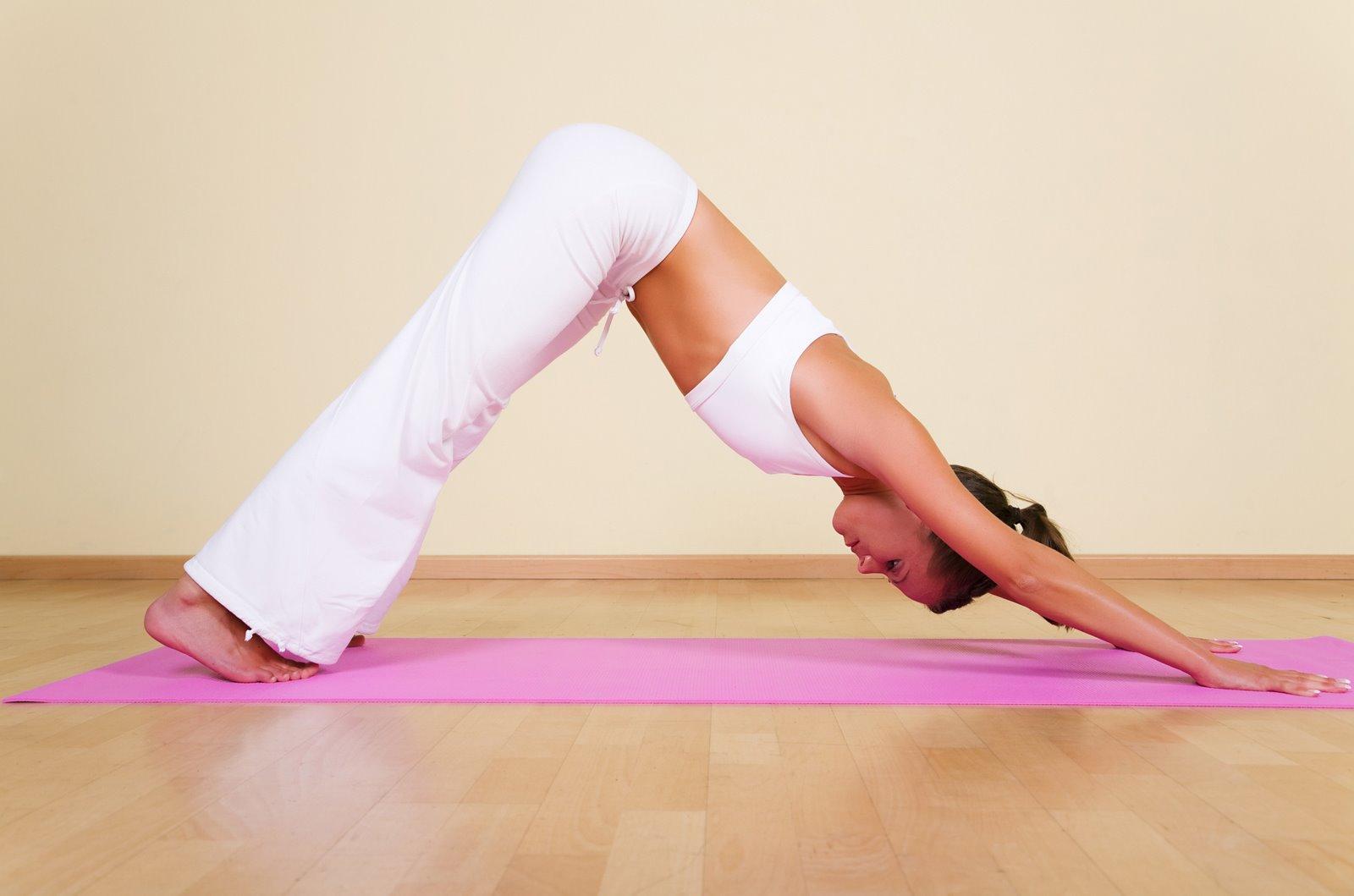 Упражнения хатха йога для начинающих
