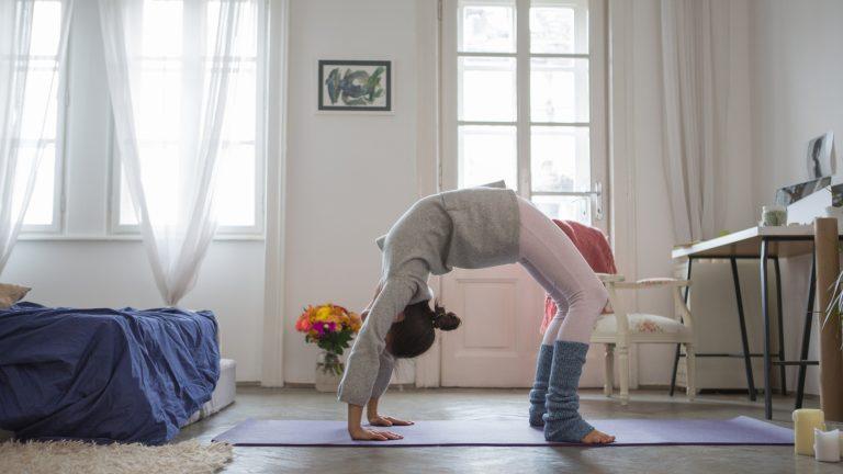 Йога для начинающих онлайн уроки