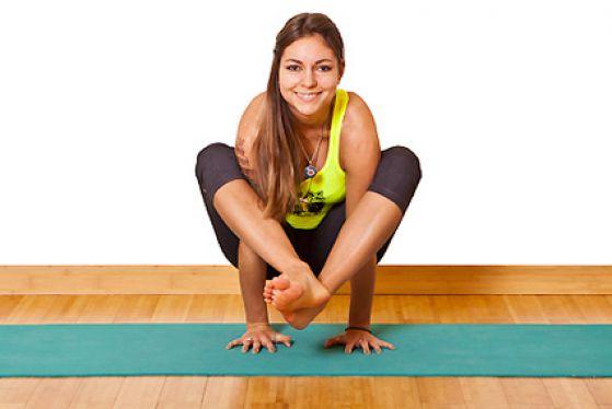 Йога для начинающих 15 минут
