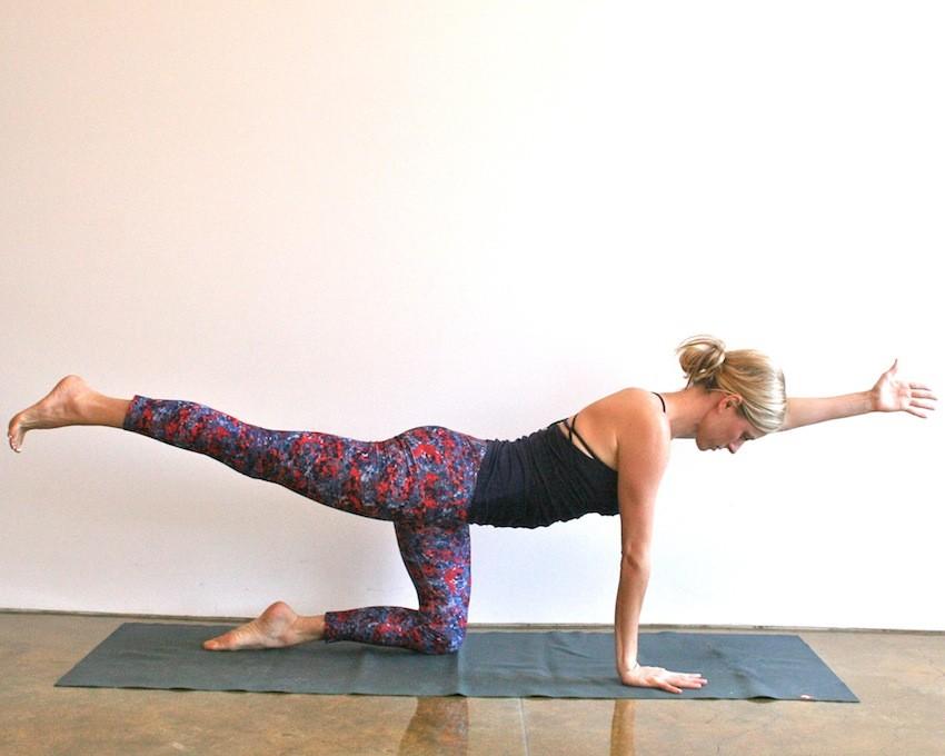 Йога комплекс для проработки спины