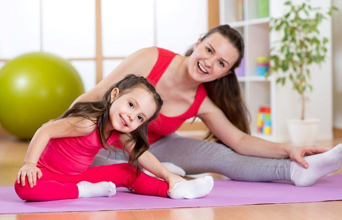 Йога комплекс для восстановления живота после беременности