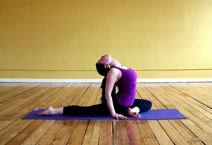 Шпагаты в йоге