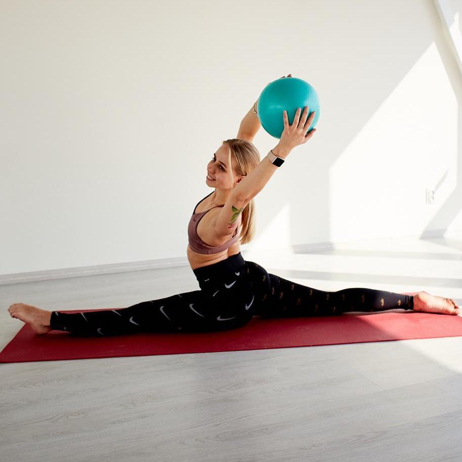 Как делать шпагат йога