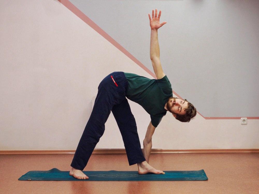 Йога комплекс для мужчин
