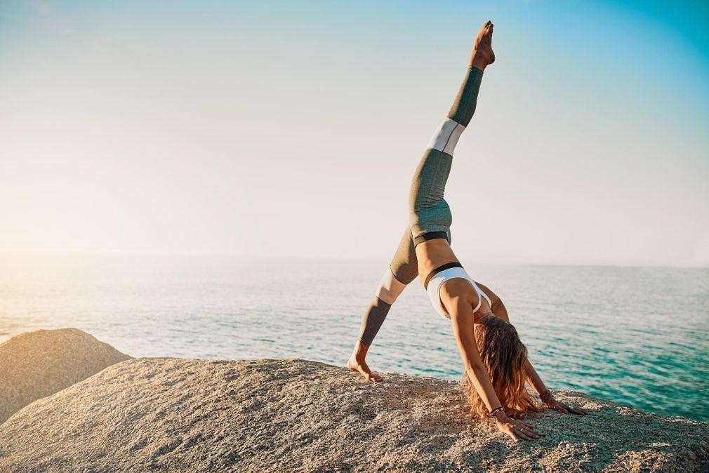 Йога для плоского живота