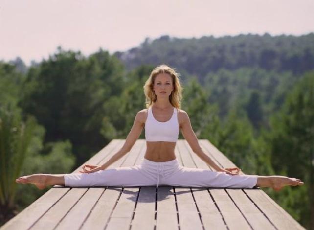 Йога для тренировки всего тела