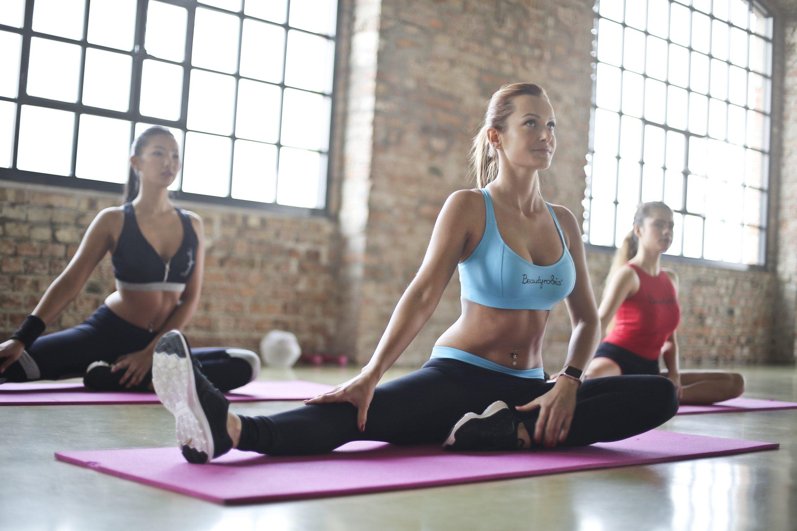 Короткие комплексы по йоге