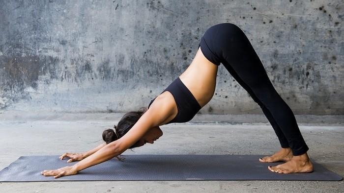 Онлайн йога для похудения