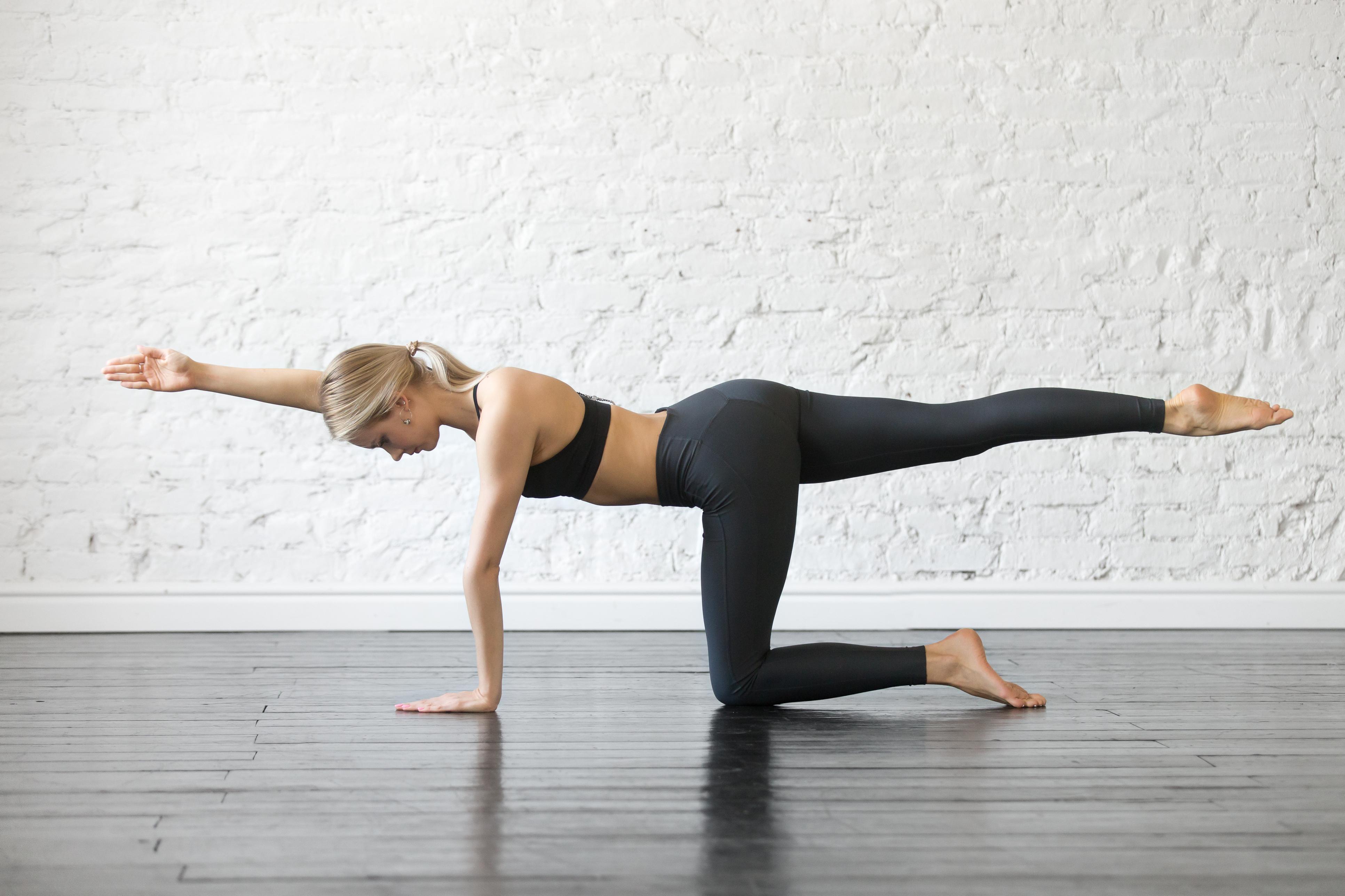 Занятия из дома по йоге