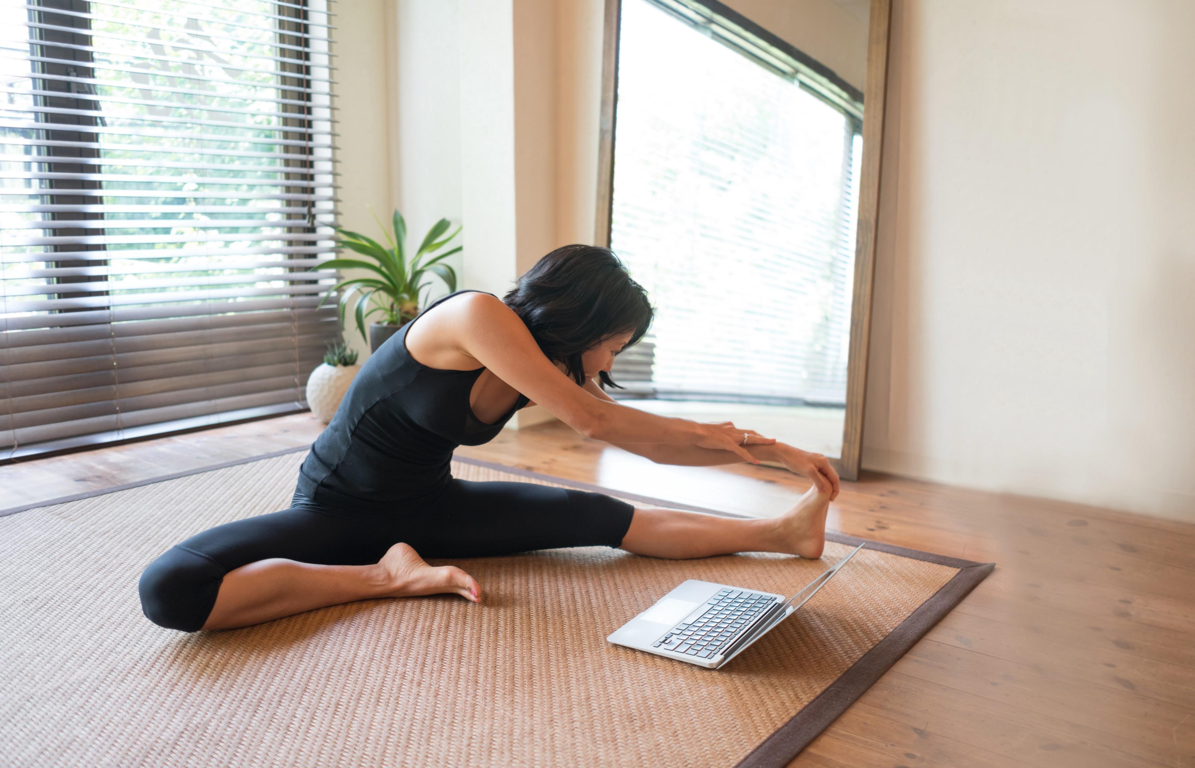 Онлайн йога для преподавателей