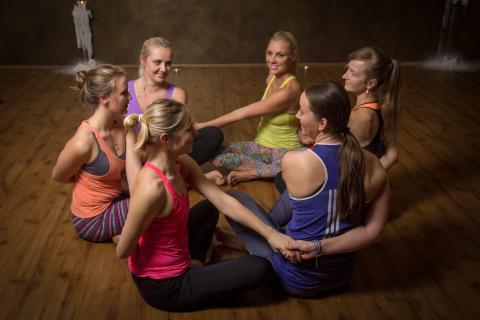 Тренировки Анны Безлюдной