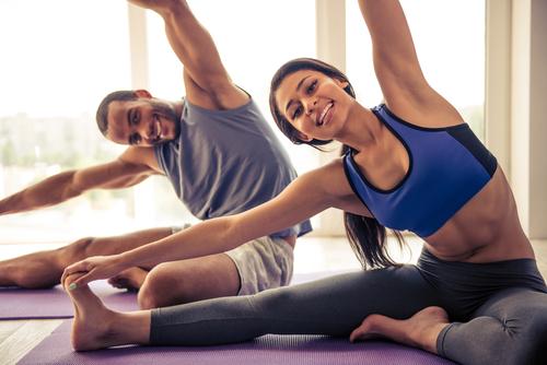 Фитнес йога онлайн