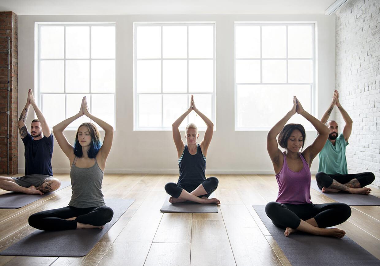Йога гимнастика для спины