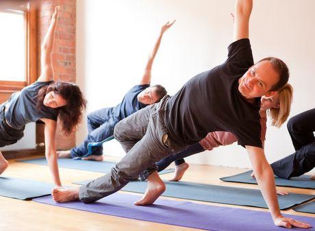 Йога видео для мужчин