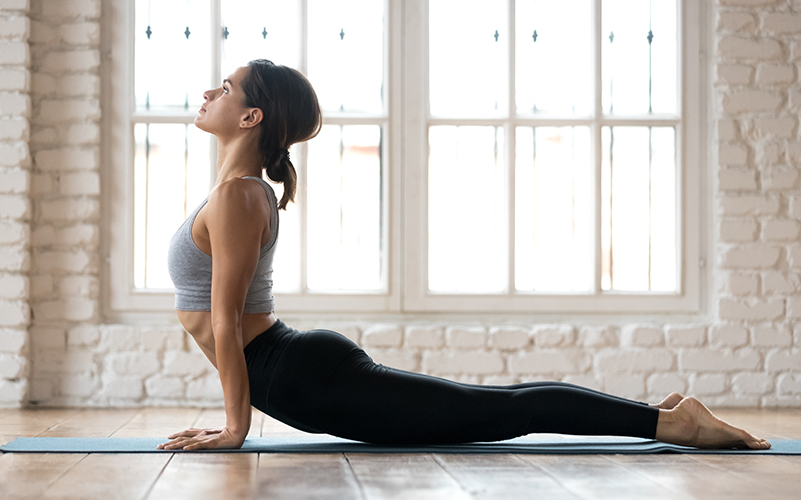 Йога тренировки для спины