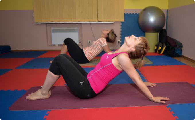 Короткая тренировка по йоге