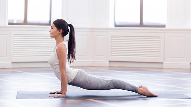 Короткий практикум по йоге