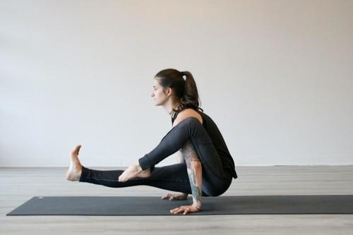 Занятие от йога профессионалов