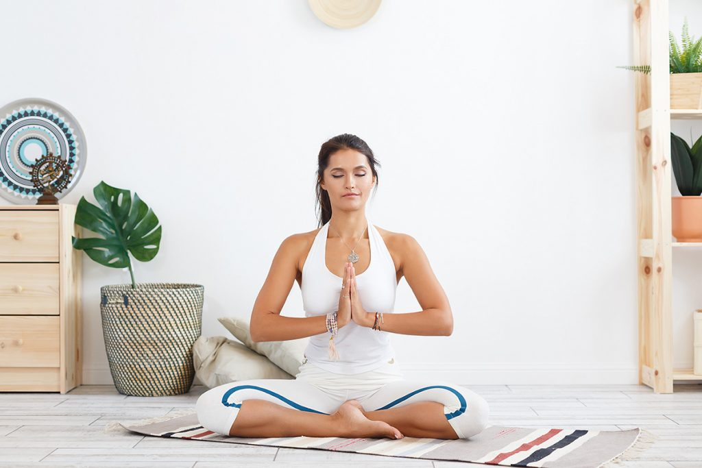 Йога тренировки под разный уровень сложности
