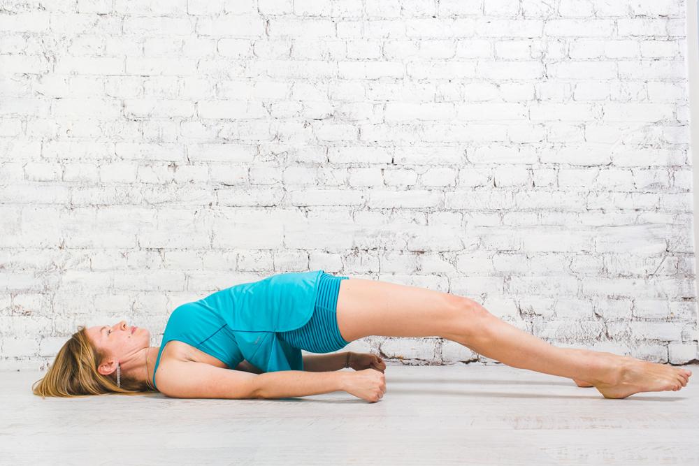 Укрепление спины с помощью йоги