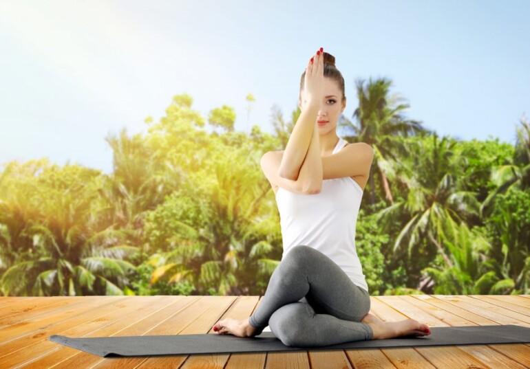 Здоровый позвоночник и йога