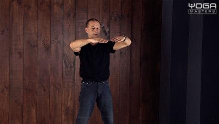 Практика техники Ян-цигун стиля Йинг